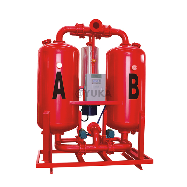 Externally Heated Desiccant Compressed Air Dryers HL-15WR 600CFM