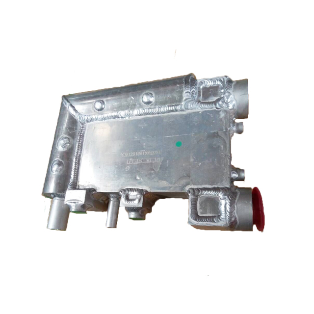 "HL100 Flow Rate 11m³/min RC2"" Evaporator Aluminum R420a Danfoss Air Compresspr Refrigerated Air Compressed Dryer"