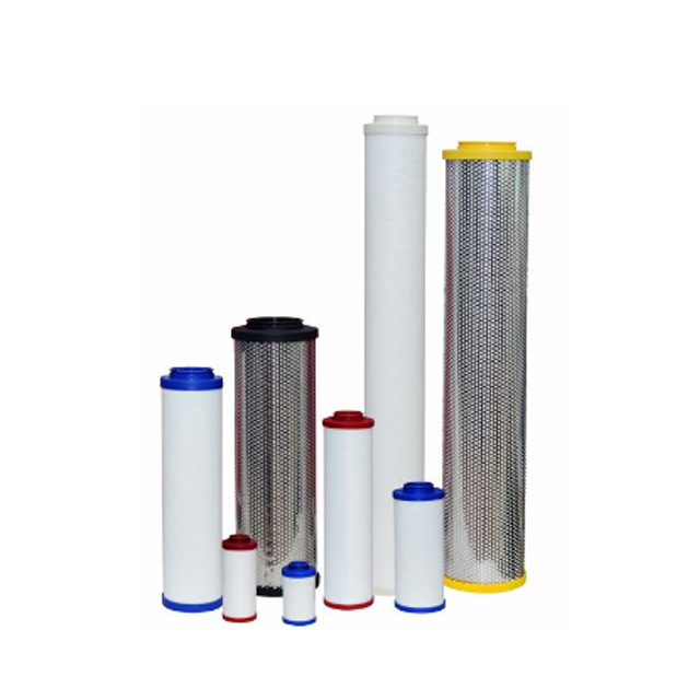 LFA020 96% Porosity Fiber Glass Coalescing Air Filter Element Cartridge