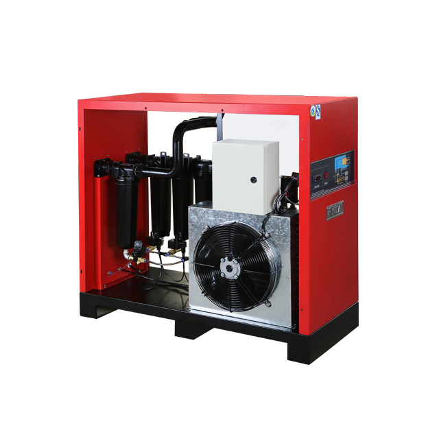 "HHL060 Flow Rate 6.5m³/min RC1-1/2"" Connection R410a 0.025Mpa Pressure Loss Refrigerated Compressor Air Dryer"